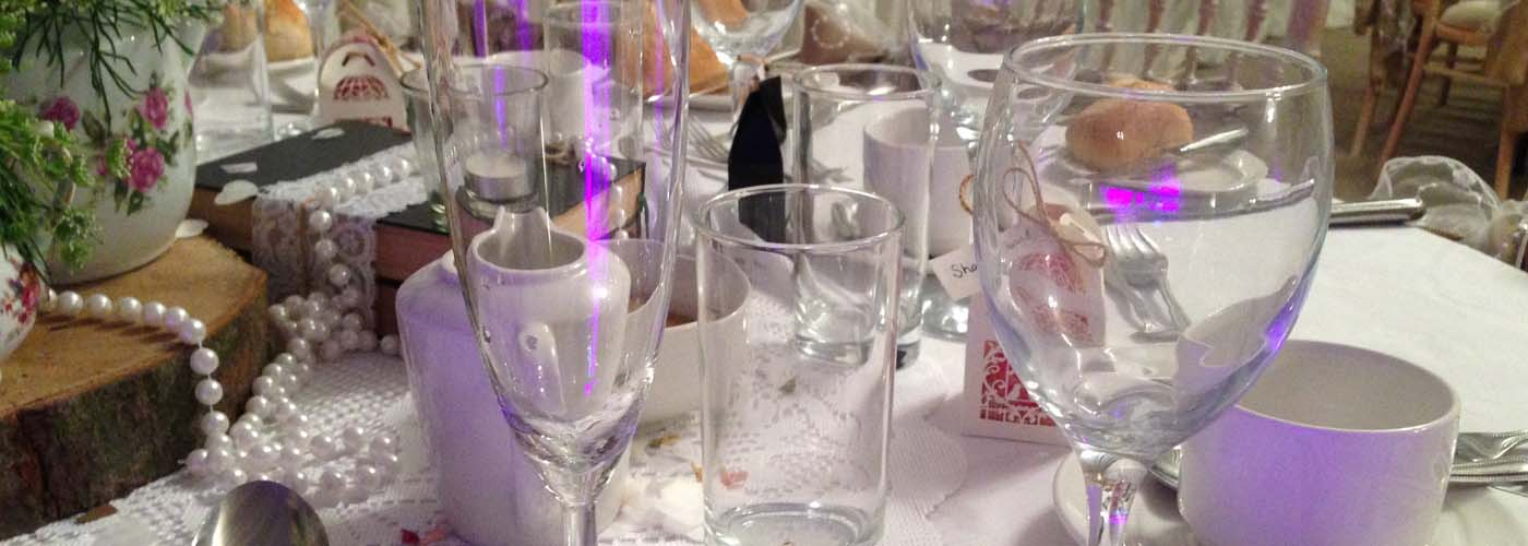 Glassware By Bar Hire Yorkshire - FAQ's